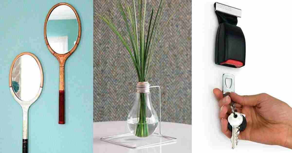 20 formas creativas de reciclar objetos cotidianos for Reciclar objetos