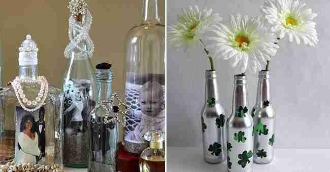 Que hacer con botellas de vidrio amazing cool free qu - Que hacer con botellas de vidrio ...