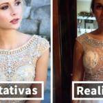5d6dcfbc537 Estas adolescentes muestran sus vestidos de graduación que lamentan haber  comprado por internet
