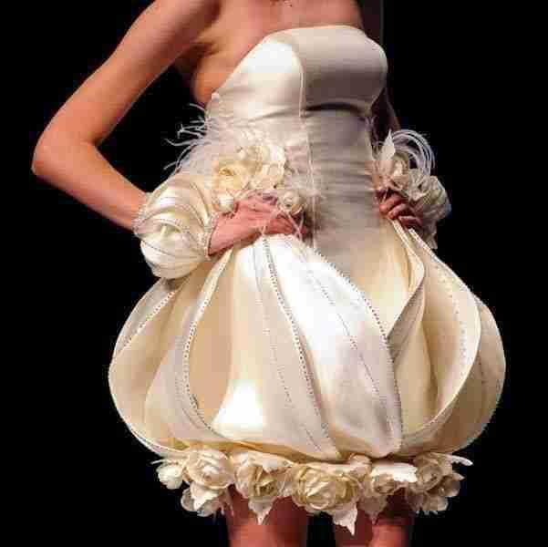 Los 10 peores vestidos de novia