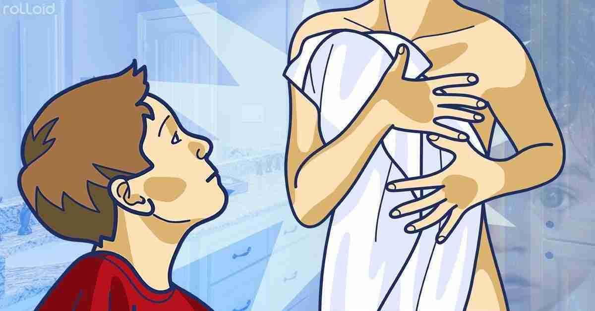 Pero que hace mi madre? se desnuda delante de mí -