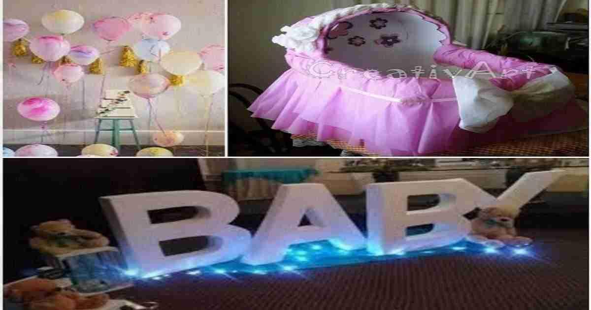 Con esto tendr s todo para tu baby shower - Baby shower ideas economicas ...