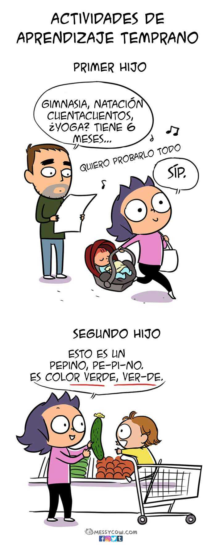1521224194 501 16 comics divertidos y honestos que muestran la diferencia entre tener el primer y el segundo hijo - 16 Cómics divertidos y honestos que muestran la diferencia entre tener el primer y el segundo hijo