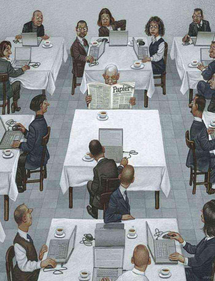 1521798391 910 31 ilustraciones brutalmente honestas de gerhard haderer que muestran lo que va mal con la sociedad actual - 31 Ilustraciones brutalmente honestas de Gerhard Haderer que muestran lo que va mal con la sociedad actual