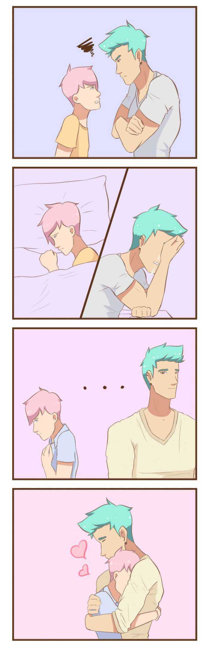1522241344 278 20 adorables comics sobre la vida diaria de una pareja gay - 20 Adorables cómics sobre la vida diaria de una pareja gay