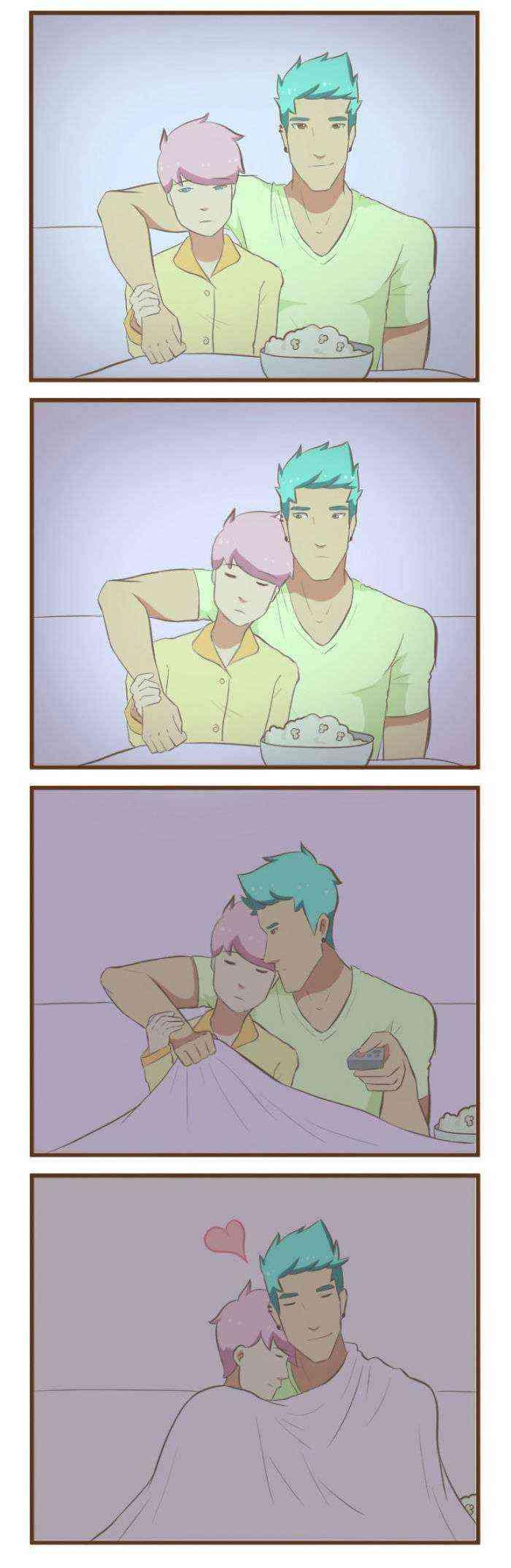 1522241346 234 20 adorables comics sobre la vida diaria de una pareja gay - 20 Adorables cómics sobre la vida diaria de una pareja gay