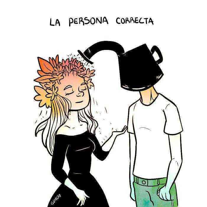 1528111844 568 20 comics sencillos pero elocuentes creados por una dibujante venezolana que te haran pensar y sonreir tambien - 20+ Cómics sencillos pero elocuentes creados por una dibujante venezolana que te harán pensar y sonreír también