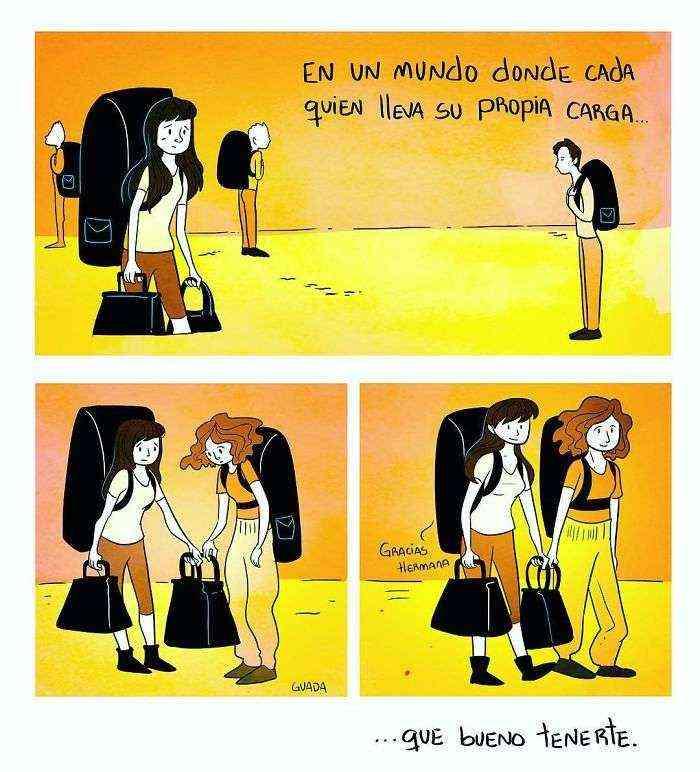1528111844 905 20 comics sencillos pero elocuentes creados por una dibujante venezolana que te haran pensar y sonreir tambien - 20+ Cómics sencillos pero elocuentes creados por una dibujante venezolana que te harán pensar y sonreír también