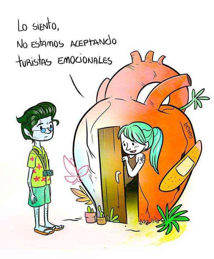 1528111845 694 20 comics sencillos pero elocuentes creados por una dibujante venezolana que te haran pensar y sonreir tambien - 20+ Cómics sencillos pero elocuentes creados por una dibujante venezolana que te harán pensar y sonreír también