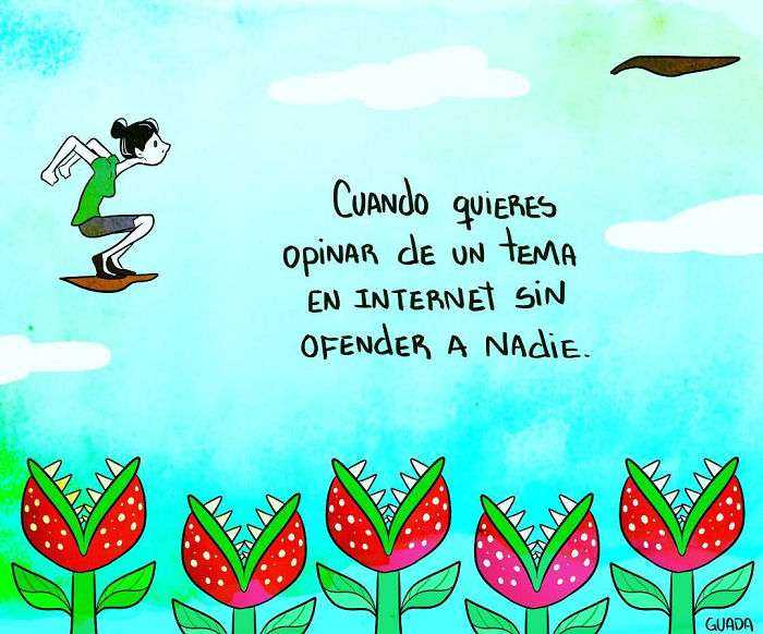 1528111845 767 20 comics sencillos pero elocuentes creados por una dibujante venezolana que te haran pensar y sonreir tambien - 20+ Cómics sencillos pero elocuentes creados por una dibujante venezolana que te harán pensar y sonreír también