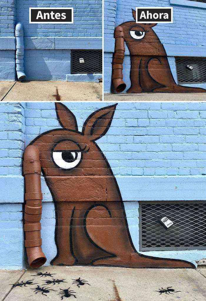 1528307944 665 hay un artista callejero genial suelto por nueva york esperamos que no le pillen 30 imagenes nuevas - Hay un artista callejero genial suelto por Nueva York, esperamos que no le pillen (+30 imágenes nuevas)