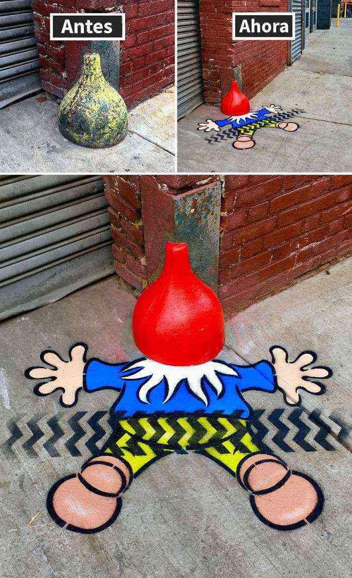 1528307946 652 hay un artista callejero genial suelto por nueva york esperamos que no le pillen 30 imagenes nuevas - Hay un artista callejero genial suelto por Nueva York, esperamos que no le pillen (+30 imágenes nuevas)
