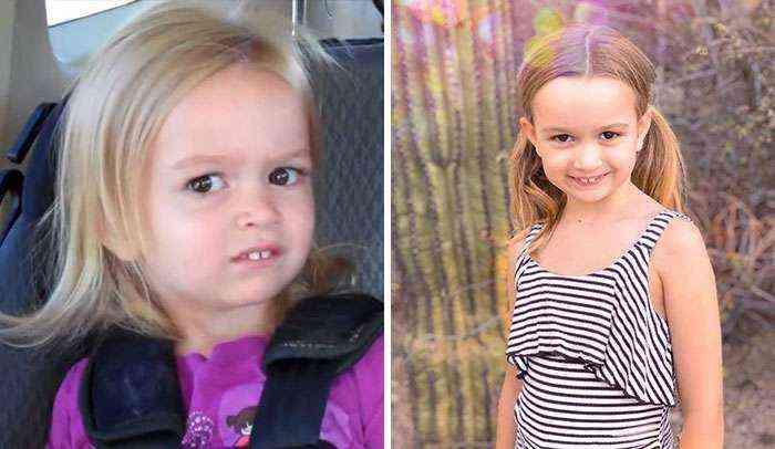 Chloe mirándote mal