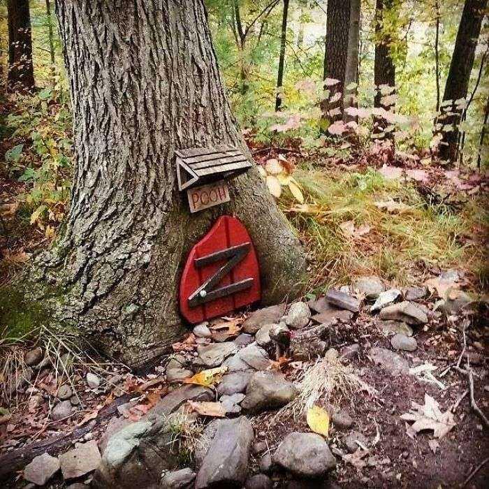 Encontré esto en el bosque mientras montaba