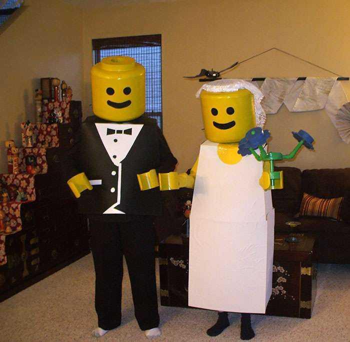 Así ganaron mis padres el concurso de disfraces