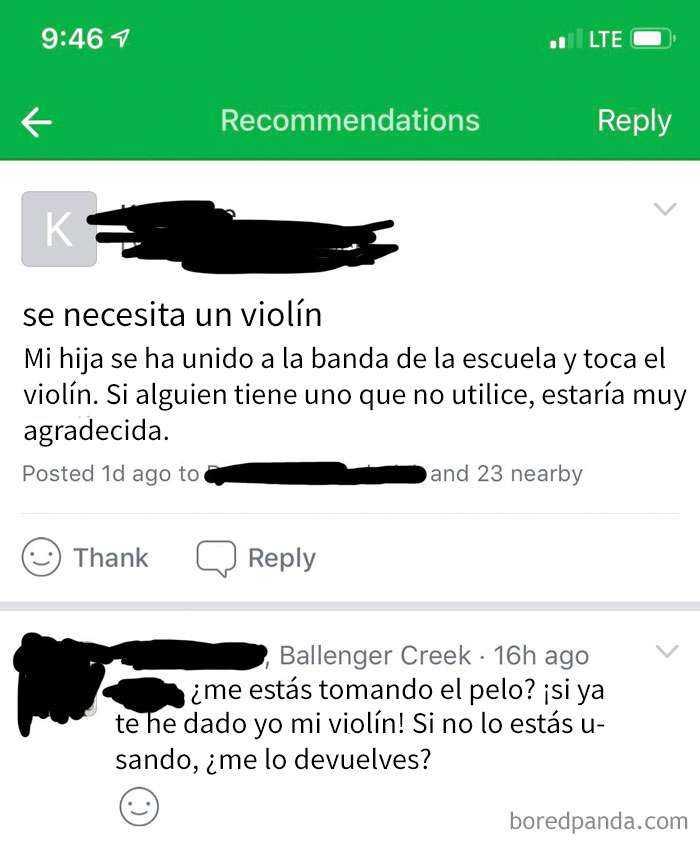¿puedo Conseguir Otro Violín Gratis?