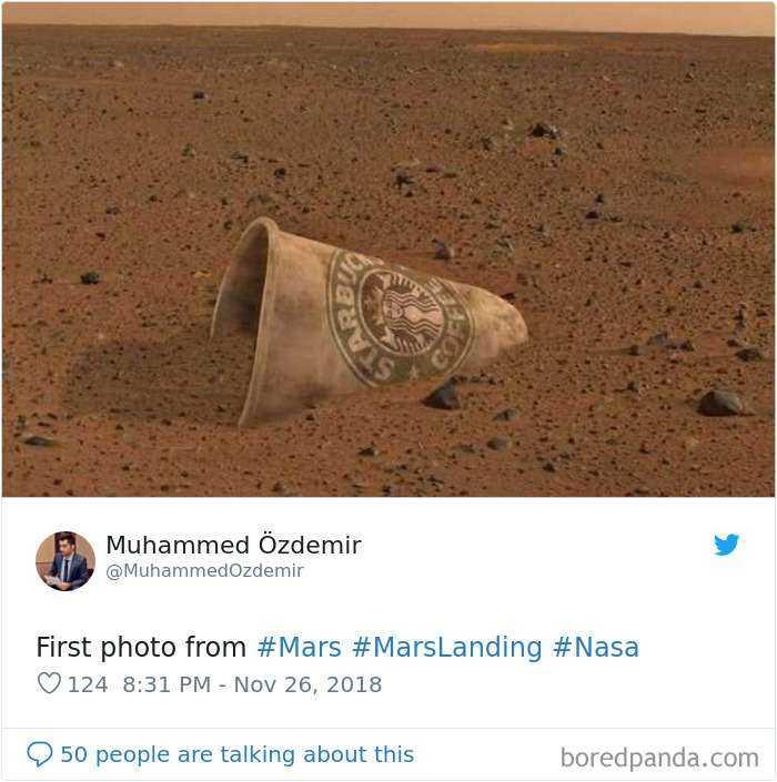 Primera foto desde Marte