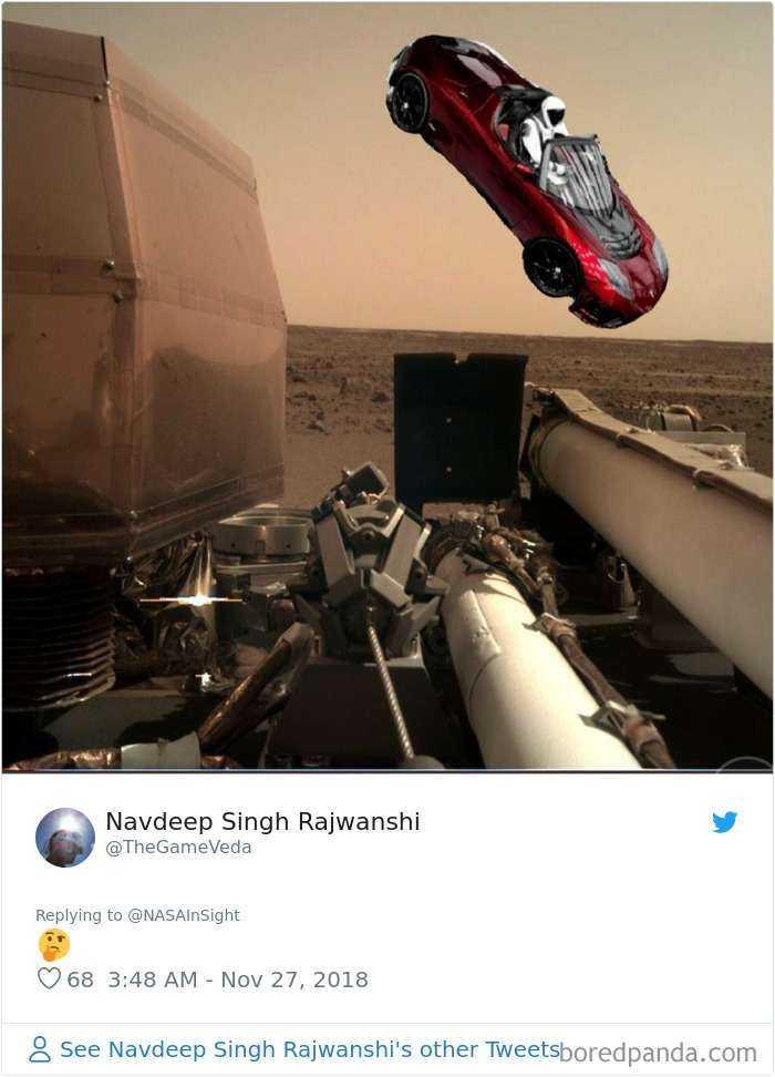 1543490368 774 30 divertidas reacciones a las primeras fotos de marte realizadas por el insight de la nasa - 30 Divertidas reacciones a las primeras fotos de Marte realizadas por el InSight de la NASA