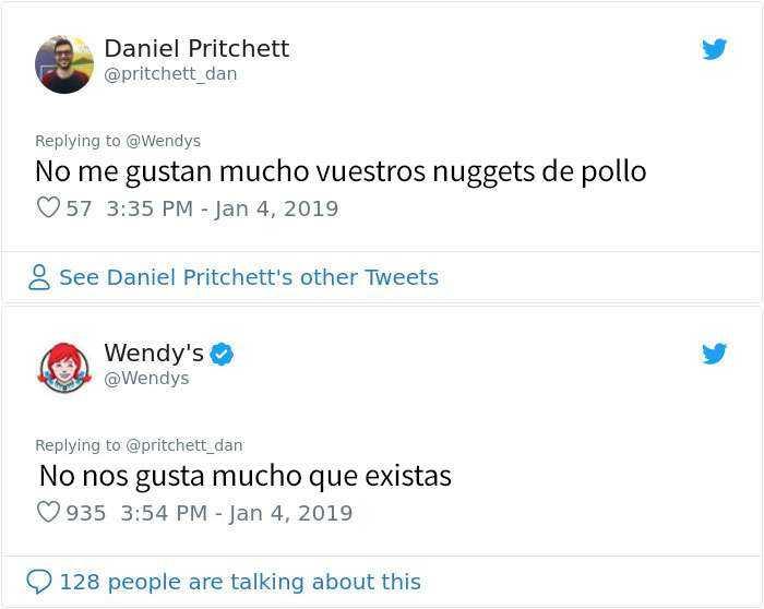 1546964406 3 20 personas y companias que se arrepintieron de pedir a wendys que los criticara - 20 Personas y compañías que se arrepintieron de pedir a Wendy's que los criticara