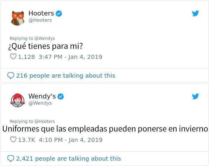 1546964406 550 20 personas y companias que se arrepintieron de pedir a wendys que los criticara - 20 Personas y compañías que se arrepintieron de pedir a Wendy's que los criticara