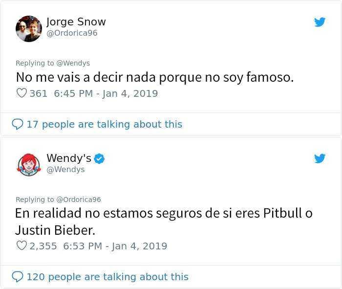 1546964411 609 20 personas y companias que se arrepintieron de pedir a wendys que los criticara - 20 Personas y compañías que se arrepintieron de pedir a Wendy's que los criticara