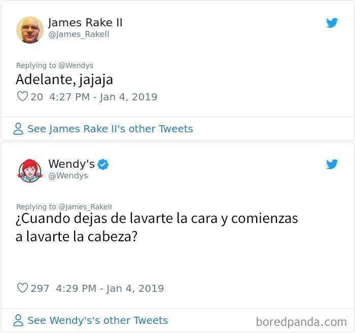 1546964413 502 20 personas y companias que se arrepintieron de pedir a wendys que los criticara - 20 Personas y compañías que se arrepintieron de pedir a Wendy's que los criticara