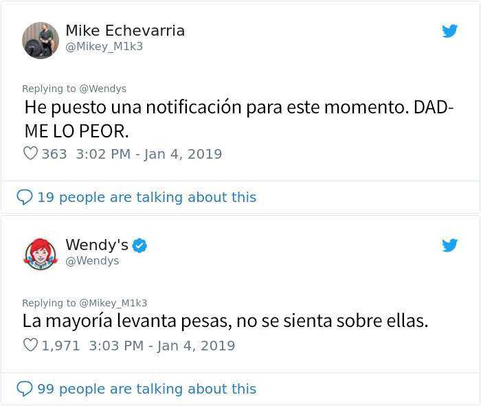 1546964414 659 20 personas y companias que se arrepintieron de pedir a wendys que los criticara - 20 Personas y compañías que se arrepintieron de pedir a Wendy's que los criticara