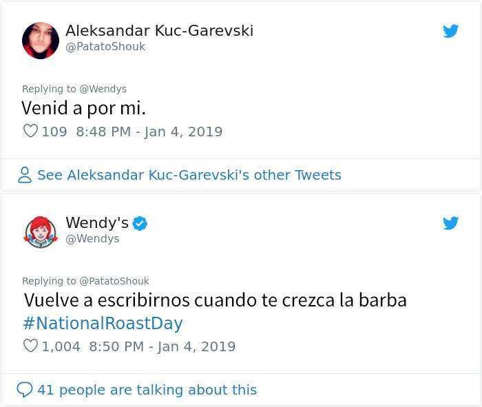 1546964414 673 20 personas y companias que se arrepintieron de pedir a wendys que los criticara - 20 Personas y compañías que se arrepintieron de pedir a Wendy's que los criticara