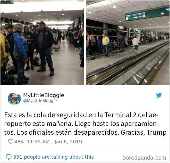 1547058768 676 20 reveladores tuits de viajeros que muestran los peligros del cierre de la administracion - 20 Reveladores tuits de viajeros que muestran los peligros del cierre de la administración
