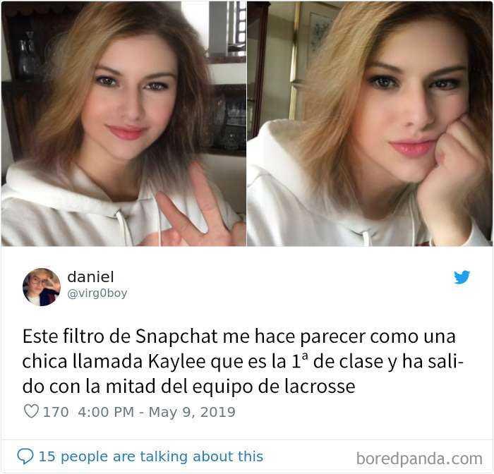1557848018 748 20 personas que probaron el nuevo filtro de snapchat para cambiar de genero y quedaron sorprendidos con los resultados - 20 Personas que probaron el nuevo filtro de Snapchat para cambiar de género y quedaron sorprendidos con los resultados