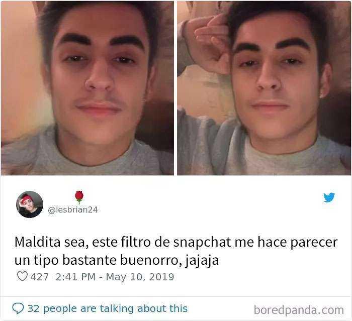 1557848019 643 20 personas que probaron el nuevo filtro de snapchat para cambiar de genero y quedaron sorprendidos con los resultados - 20 Personas que probaron el nuevo filtro de Snapchat para cambiar de género y quedaron sorprendidos con los resultados