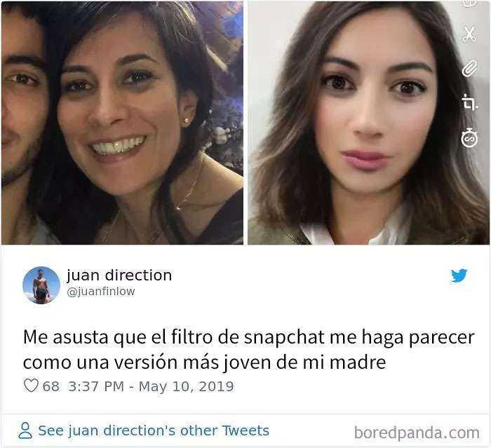 1557848020 193 20 personas que probaron el nuevo filtro de snapchat para cambiar de genero y quedaron sorprendidos con los resultados - 20 Personas que probaron el nuevo filtro de Snapchat para cambiar de género y quedaron sorprendidos con los resultados