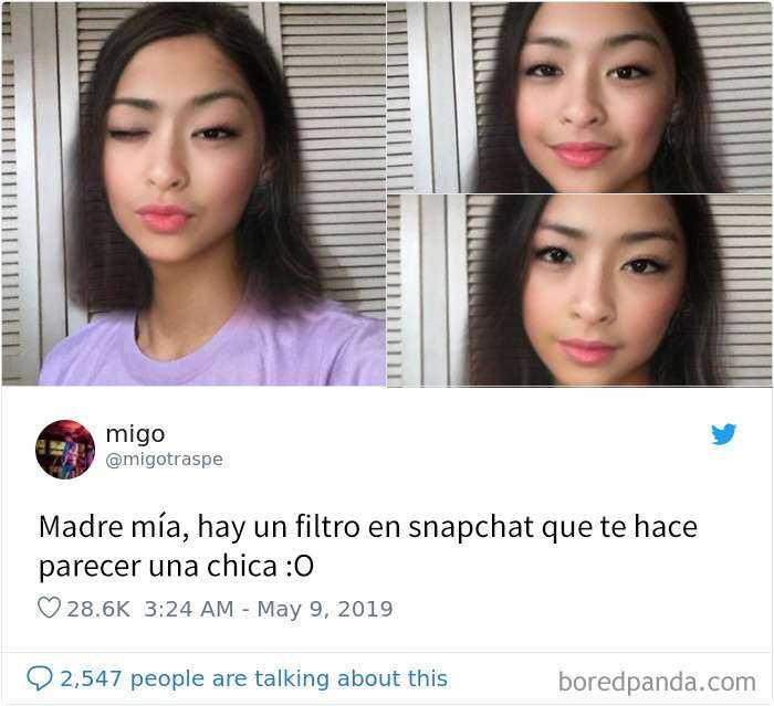 1557848020 934 20 personas que probaron el nuevo filtro de snapchat para cambiar de genero y quedaron sorprendidos con los resultados - 20 Personas que probaron el nuevo filtro de Snapchat para cambiar de género y quedaron sorprendidos con los resultados