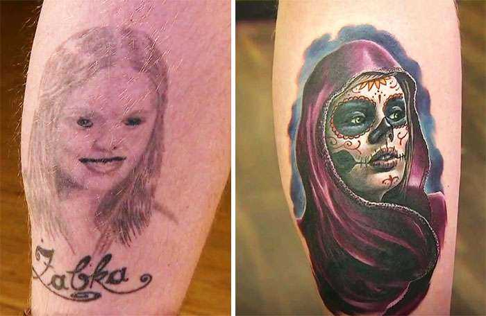 31 People Who Covered Up Tattoos Of Their Exes After Things Went Wrong