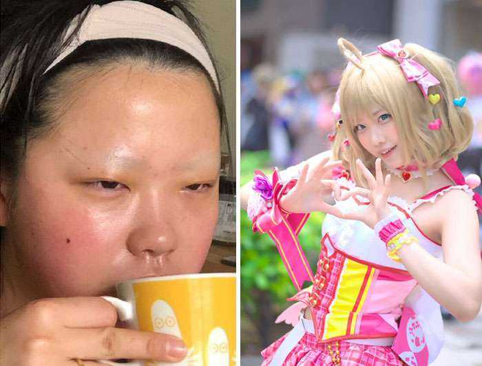 Asian Cosplayers Are Revealing How Simple They Look When They're Not In Character (30 Pics)