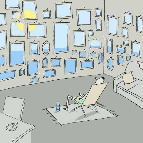 897 20 potentes ilustraciones que te haran detenerte y reflexionar sobre la vida - 20 Potentes ilustraciones que te harán detenerte y reflexionar sobre la vida