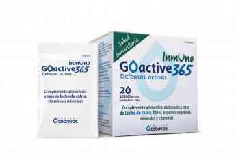 563 goactive 365 unico complemento alimenticio a base de leche de cabra - GOACTIVE 365, único complemento alimenticio a base de leche de cabra