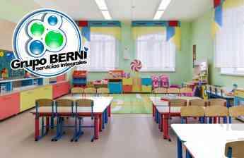 919 actividades de limpieza y desinfeccion en las escuelas por grupo berni - Actividades de limpieza y desinfección en las escuelas, por GRUPO BERNI
