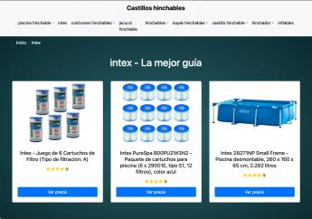 322 nace castillohinchable net la nueva web para comparar piscinas hinchables - Nace Castillohinchable.net, la nueva web para comparar piscinas hinchables