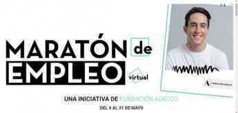 "704 primera maraton del empleo virtual de fundacion adecco - Primera ""Maratón del Empleo Virtual"" de Fundación Adecco"