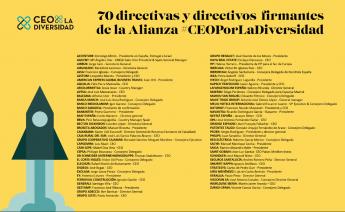 343 2a edicion alianza ceoporladiversidad reune a 70 companias para frenar la pobreza y exclusion en espana - 2ª edición Alianza #CEOPorLaDiversidad, reúne a 70 compañías para frenar la pobreza y exclusión en España