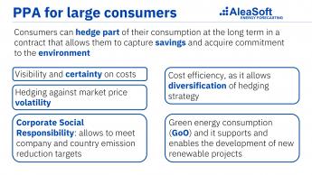 """319 aleasoft los ppa pueden ayudar a la industria electrointensiva pero deben ser a precios competitivos - AleaSoft: """"Los PPA pueden ayudar a la industria electrointensiva, pero deben ser a precios competitivos"""""""