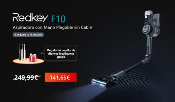 33 la aspiradora plegable inalambrica de mano redkey f10 viene a revolucionar el mercado - La aspiradora plegable inalámbrica de mano Redkey F10 viene a revolucionar el mercado