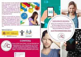354 asociaciones de pacientes de electrohipersensibilidad publican un documento que revisa una guia del inss - Asociaciones de pacientes de electrohipersensibilidad publican un documento que revisa una guía del INSS