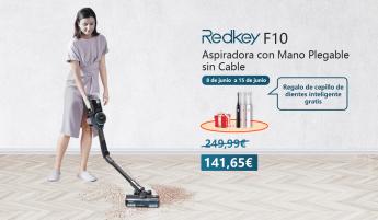 903 la aspiradora plegable inalambrica de mano redkey f10 viene a revolucionar el mercado - La aspiradora plegable inalámbrica de mano Redkey F10 viene a revolucionar el mercado