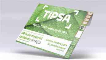 242 los sobres de tipsa obtienen el certificado internacional de sostenibilidad blue angel - Los sobres de TIPSA obtienen el certificado internacional de sostenibilidad Blue Angel