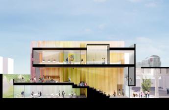 397 nuria heras lidera el equipo de arquitectos que diseno el que sera el edificio mas emblematico de queens nueva york - Nuria Heras, lidera el equipo de arquitectos que diseñó el que será el edificio más emblemático de Queens, Nueva York