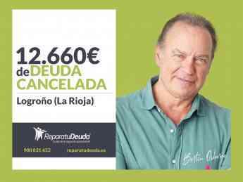 610 repara tu deuda cancela 12 660 e en logrono la rioja con la ley de la segunda oportunidad - Repara tu Deuda cancela 12.660 € en Logroño (La Rioja) con la Ley de la Segunda Oportunidad