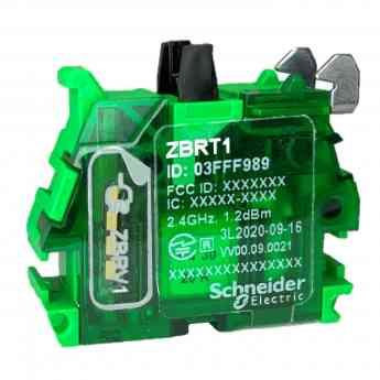649 harmony zbrt la interfaz inalambrica y sin bateria de schneider electric para pulsadores - Harmony ZBRT, la interfaz inalámbrica y sin batería de Schneider Electric para pulsadores