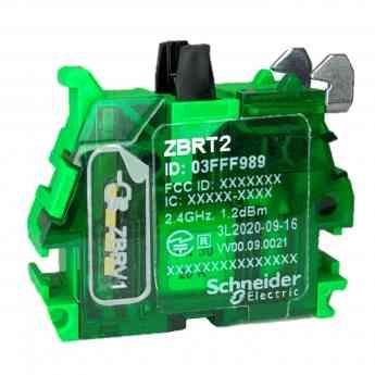 874 harmony zbrt la interfaz inalambrica y sin bateria de schneider electric para pulsadores - Harmony ZBRT, la interfaz inalámbrica y sin batería de Schneider Electric para pulsadores